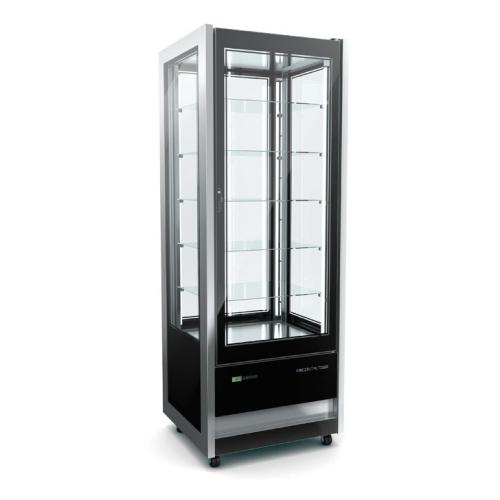 süteményes hűtő, cristal tower 725